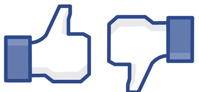 """Ön szerint milyen legyen a Facebook """"nem tetszik"""" gombja?"""