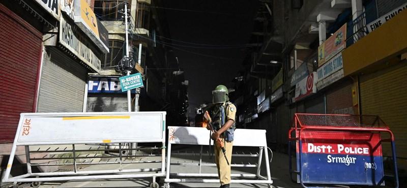 Kijárási tilalom, evakuált turisták, letartóztatott vezetők: India gyakorlatilag megszállta Kasmírt