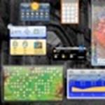 Élő hazai időjárástérkép a Dashboardon egy mozdulattal