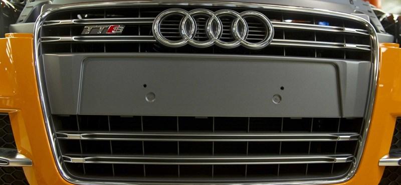 Elkezdődött a sztrájk a győri Audinál