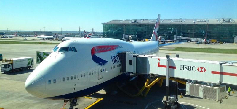 Rendőrök vitték el a részeg pilótát egy British Airways gépről