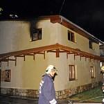 Leégett egy családi ház tetőtere Gyálon