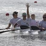 Várandósan sem hanyagolja az edzéseket az olimpiai bajnok kajakozó