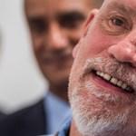 John Malkovich tárlatvezetést tartott a Műcsarnokban
