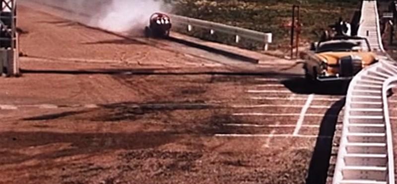Videón a Mercedes töréstesztjei 1959-től napjainkig