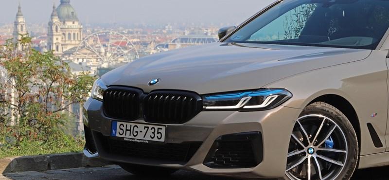Adj egy ötöst: kipróbáltuk a megújult 5-ös BMW-t