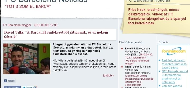 A Barcelona legyőzhetetlen a hazai bajnoki nyitányokon
