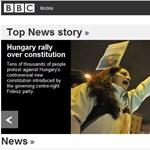 Címlapra kerültünk a BBC-nél