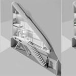 Elképesztő megoldással épül a világ legkeskenyebb lakóháza