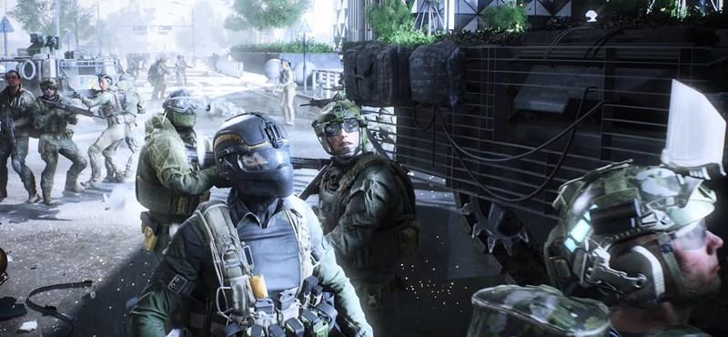 Videó: Kijött az új Battlefield előzetese, mindent elsöprő játékot ígér az EA