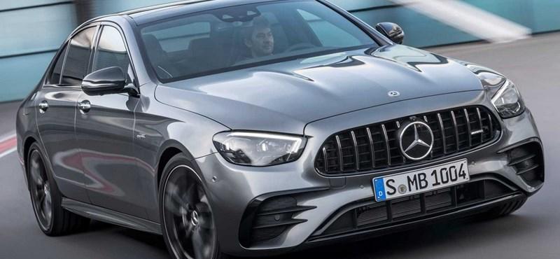 Magyarországon a megújult Mercedes E-osztály
