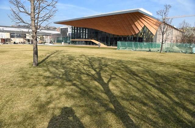 tg.19.02.15. az új Nemzeti táncszínház épülete, Millenáris