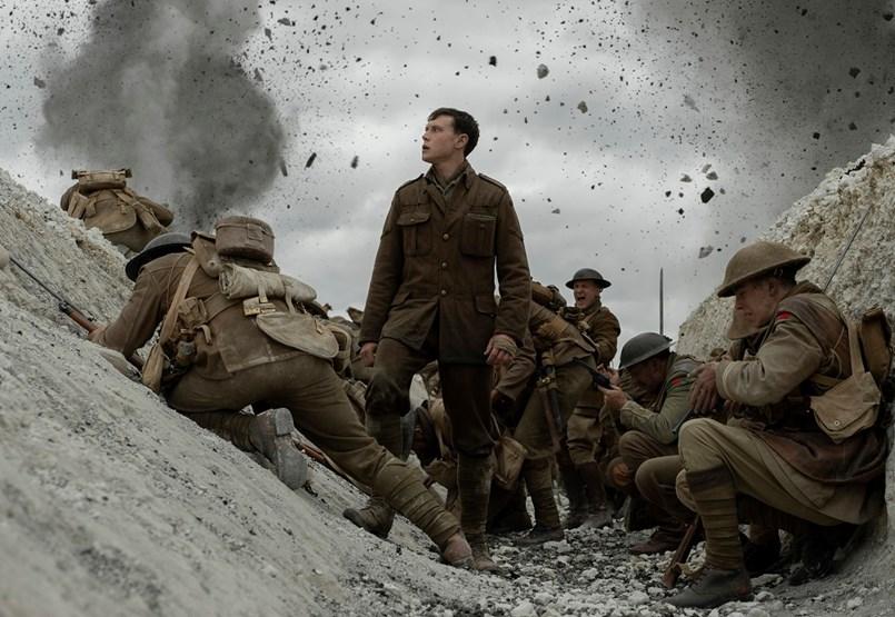 A tíz Oscarra jelölt 1917 mesterkurzusnak remek, háborús filmnek csak jó