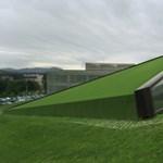 Mint egy földbe csapódott UFO - Egy különleges spanyol épület