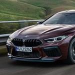 Hazánkban a 600 lóerős 4 ajtós BMW M8 Gran Coupé