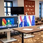 Uniós vezetőkkel videókonferenciázott Orbán