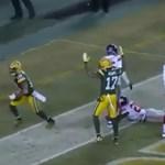 Elképesztő touchdownnal sokkolt a Green Bay
