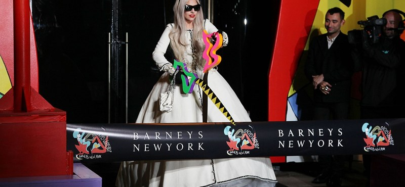 Lady Gaga New yorki boltja