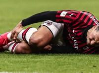 Súlyosan megsérülhetett Ibrahimovic a Milan edzésén