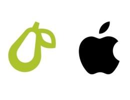 Nem engedné az Apple, hogy egy kis cégnek körte legyen a logója