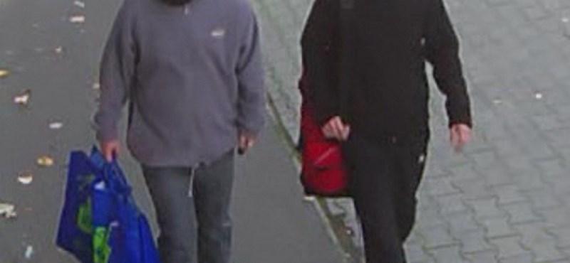 Fotó: ezt a két bankrablót keresi a rendőrség