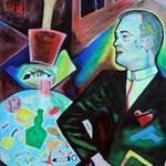 Ezúttal Borkai Zsolt szerelmi bánatát festette meg DrMáriás