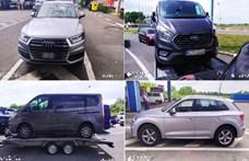 Sokmilliós lopott autókkal bukott le két román sofőr a határnál