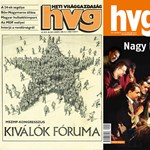 A HVG 40 évének 20 legjobb címlapja - fotógaléria