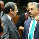 Ellenfél nélkül is megvívta újabb csatáját Orbán Brüsszelben