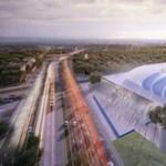 A Várkert Bazár építője az MTK-stadionnál is befutó
