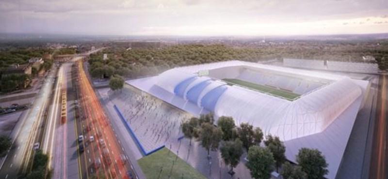 Látványterv: Ilyen lesz az új MTK-stadion