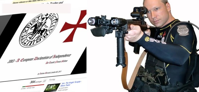 Elhatárolódott Breiviktől egykori pártja, de veszélyekre figyelmeztet
