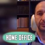 """Oszkó Péter a Home office-ban: """"Csodálkozom azokon, akik jól alszanak, miközben átlépnek másokon"""""""