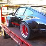 72 óra alatt lett igazi szörny a Porsche 911-ből – videó