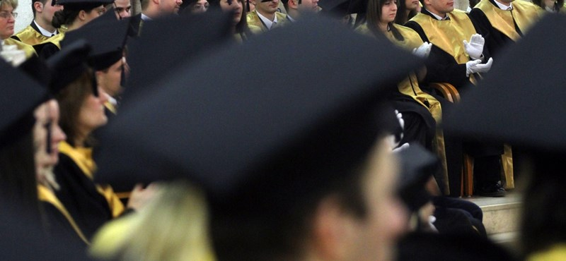 Évtizedek óta nem volt ilyen kevés felsőoktatási hallgató