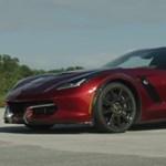 Új rekord: 338 km/h-val száguldott egy elektromos Corvette – videó