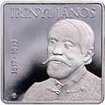 Különleges, szivárványhatású emlékérme a 200 éve született Irinyi János emlékére