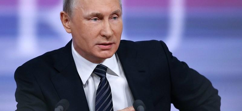 Megingathatatlan Putyin támogatottsága