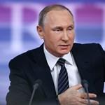 Beintett Putyin a franciáknak