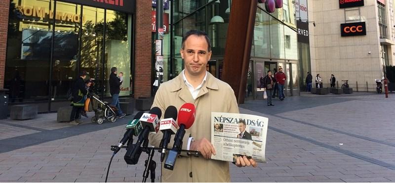 """""""A mai nap a sajtószabadság felszámolásának napja"""""""