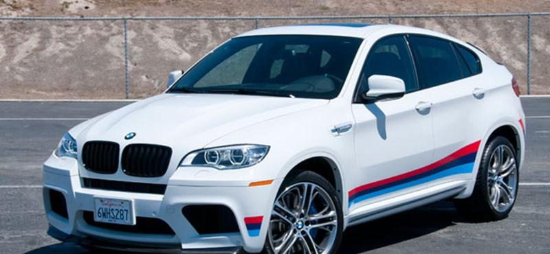Megvadítják a BMW X6 új generációját