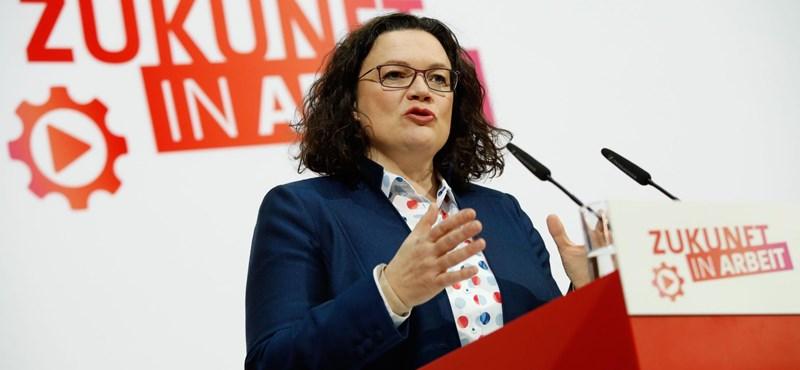 Lemondott a német szociáldemokraták vezetője