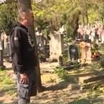 Eltűnt egy férfi szüleinek a sírhelye a Megyeri úti temetőből