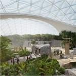 Még csak most épül, de már Európa legjobb szabadidős épületének számít az állatkerti Biodóm
