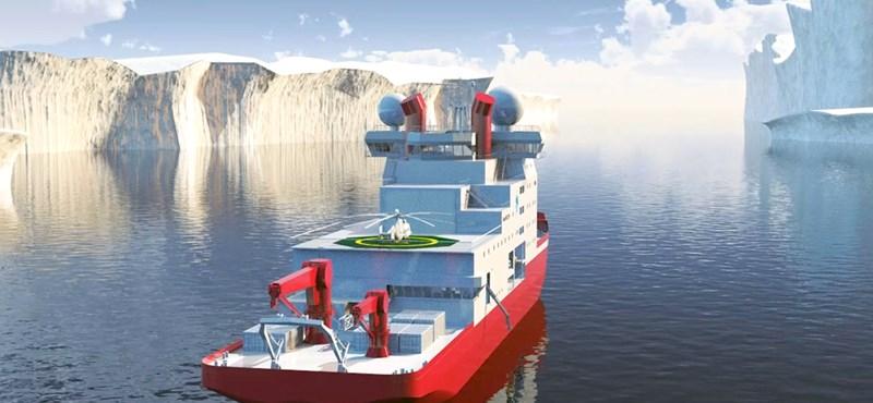 Videó: Elindult a Hósárkány 2, Kína első saját jégtörője