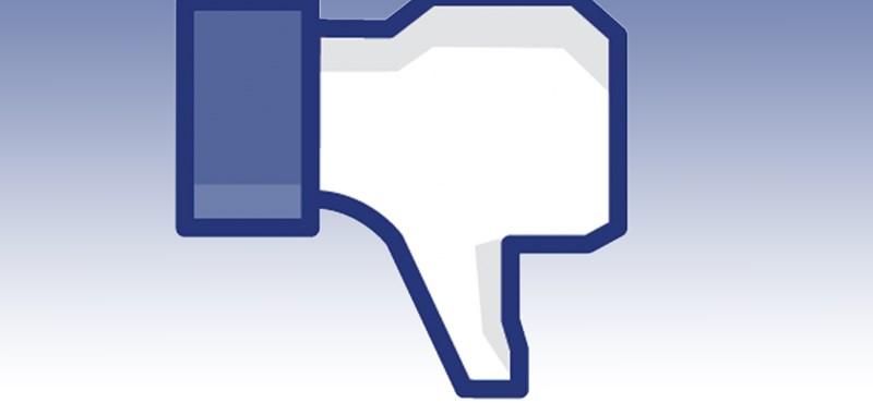 Megjelent a diszlájk a Facebookon
