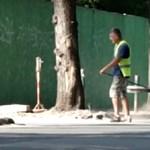 Városligeti azbeszt: a cég szerint adott védőfelszerelést, mi nem látjuk a videón