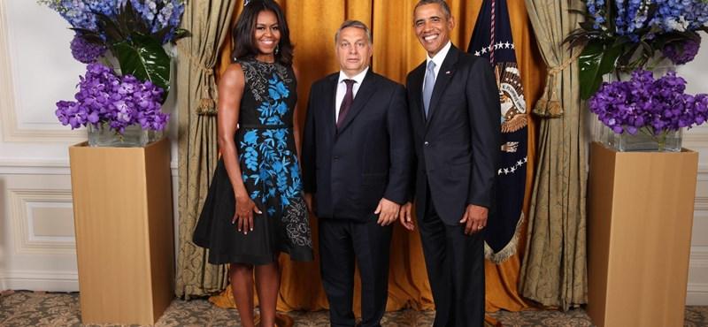 Obamáék közös fotója Orbánnal egyszerűen hibátlan