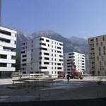Így néz ki a passzívházas olimpiai falu Innsbruckban