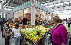 Fotók: Átadták az új békásmegyeri piacot